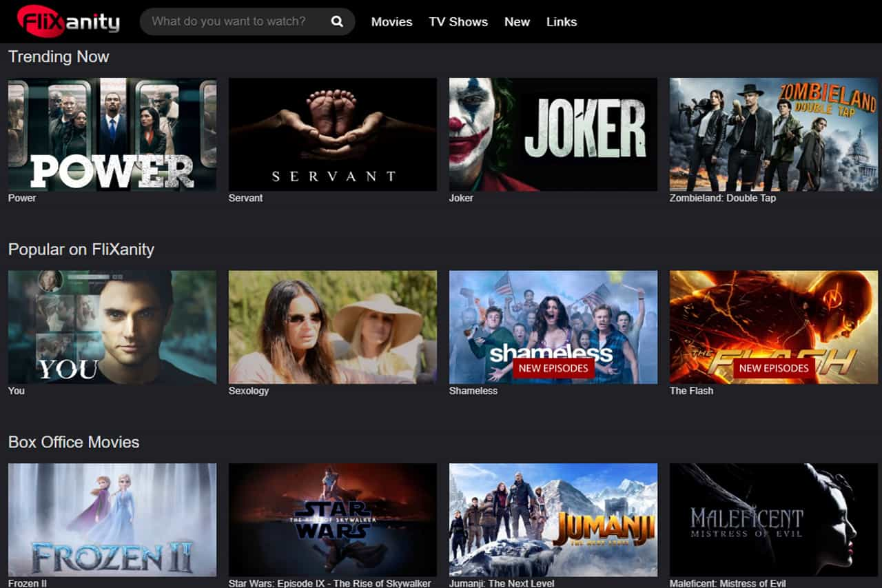 FliXanity - Watch Movies and TV Shows Online
