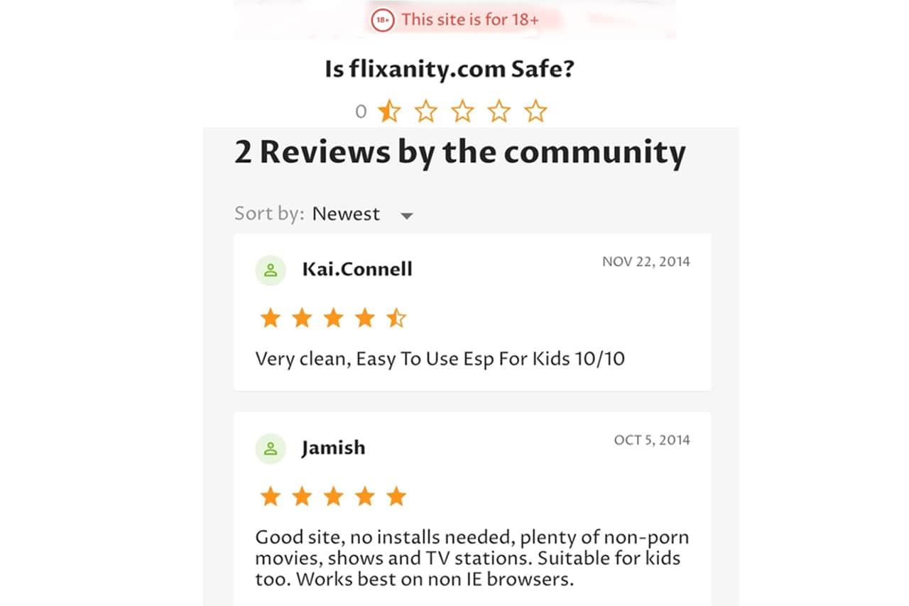 Flixanity Reviews