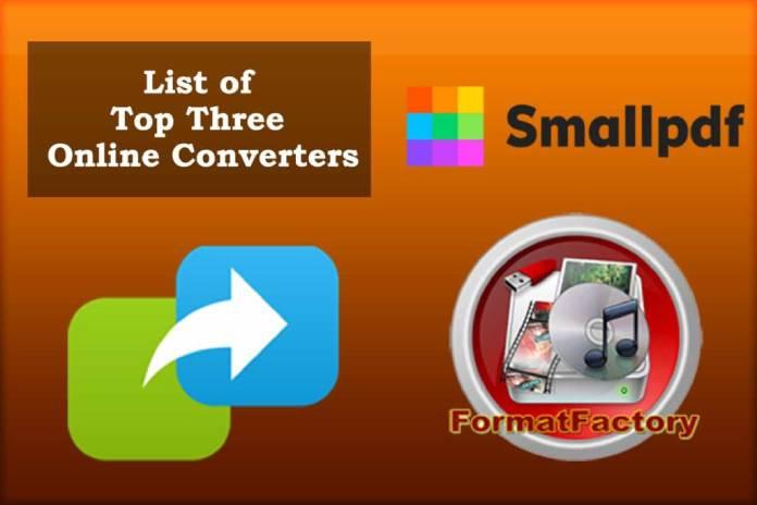 List-of-Top-Three-Online-Converters