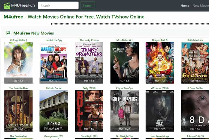 Top 10 M4uFree Movie Alternatives
