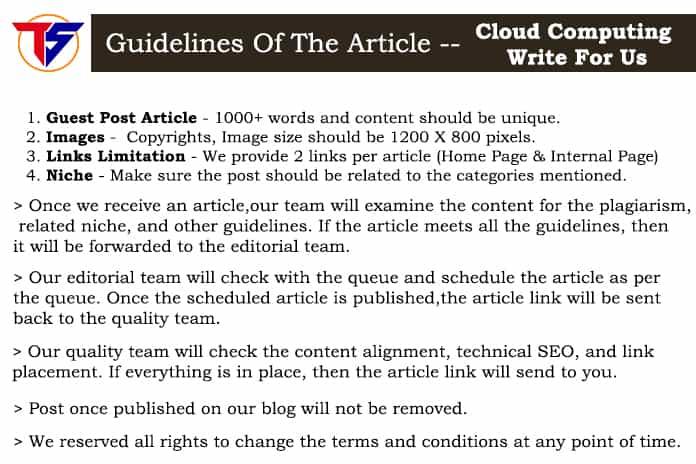Guidelines - Cloud Computing