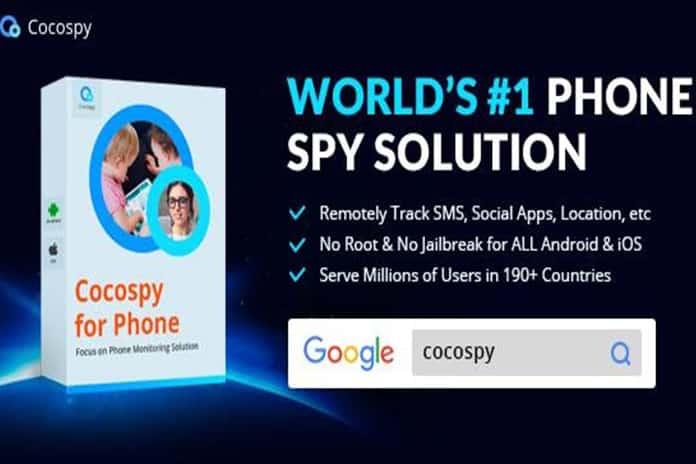 Cocospy - Best iPhone spy app