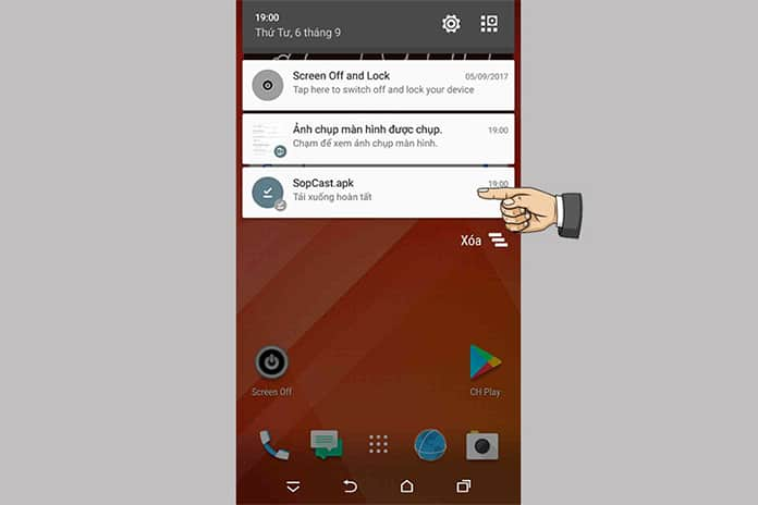 Steps to use sopcast on android