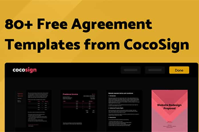 CocoSign- Access all kinds of MoUs online